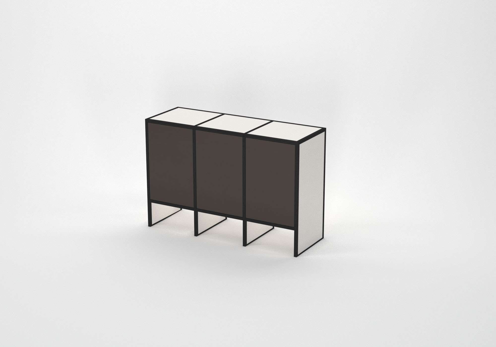 O2 – Sideboard brown front